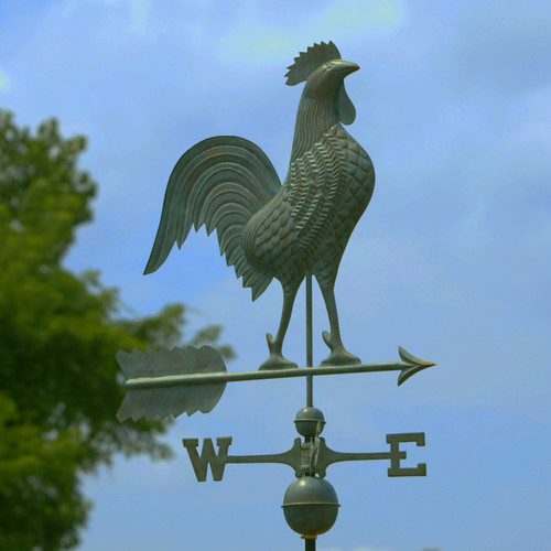 Good Directions Rooster Weathervane