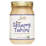 Jiva Organics RAW Organic Sesame Tahini 16-Ounce Jar