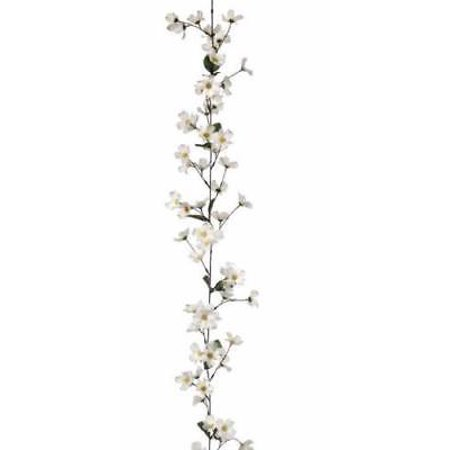 Dogwood silk flower garland in white 6 long walmart dogwood silk flower garland in white 6 long mightylinksfo