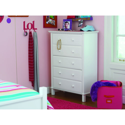 Dorel Home your zone place to be 5-drawer chest