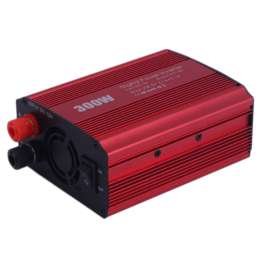 Car Adapter Converter 300W Power Inverter Transformer 2 USB Port Car Adapter Converter 12V To 110V