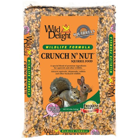 D&d Commodities Ltd.-Wild Delight Crunch N Nut Squirrel Food 8 Pound (Case of 4 )