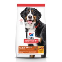 Hill's Science Diet Adult Large Breed Chicken & Barley Recipe Dry Dog Food, 15 lb bag