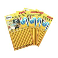 Kitchen Sink Drain Cleaner Sticks - Shower Bathtub Toilet Enzymes Snake Drain Cleaner and Deodorizer Keeps Sewer Pipe Clear and Odor Free, Drain Cleaning Products As Seen On TV (Lemon Scent, 48 Pcs)