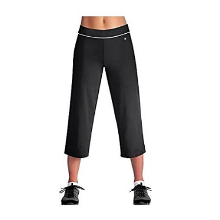 Champion Womens Capris - Womens Champion Double Dry Semi-Fitted Fitness Capris - 8255