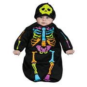Skelebaby Bunting Baby Halloween Costume
