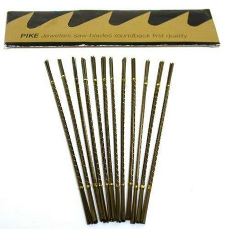 144 Swiss Jewelers Saw Blades #2, This is a new set of 144 Pike saw blades By (Swiss Saw)