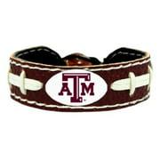 NCAA Texas A&M Aggies Team Color Football Bracelet 041066