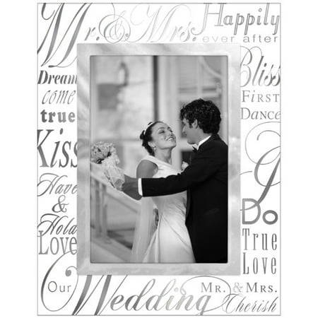 malden mr and mrs picture frame - Mr And Mrs Photo Frame