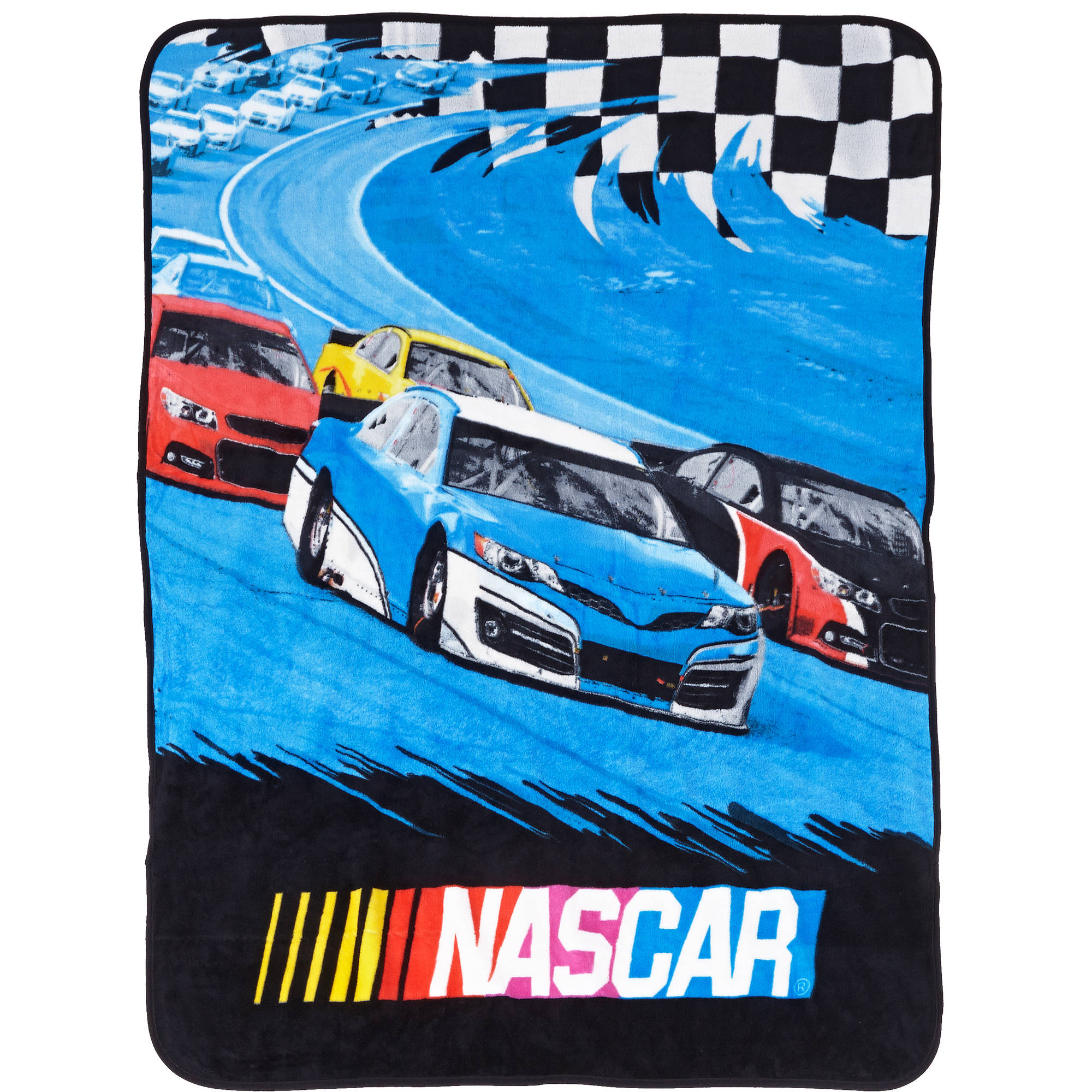 "NASCAR ""Gas and Go"" 46"" x 60"" Throw"