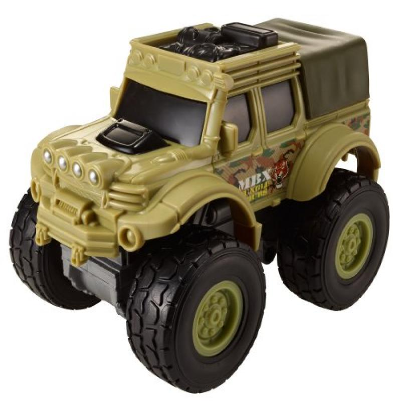 Matchbox Rev Rigs Jungle 4x4 Truck by