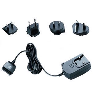 Travel Charger Kit  Travel Charger Kit With Usa  Uk  Continental Europe  And Asia Pacific Adapters For Home  Office Or Travel For Acer S10   Black