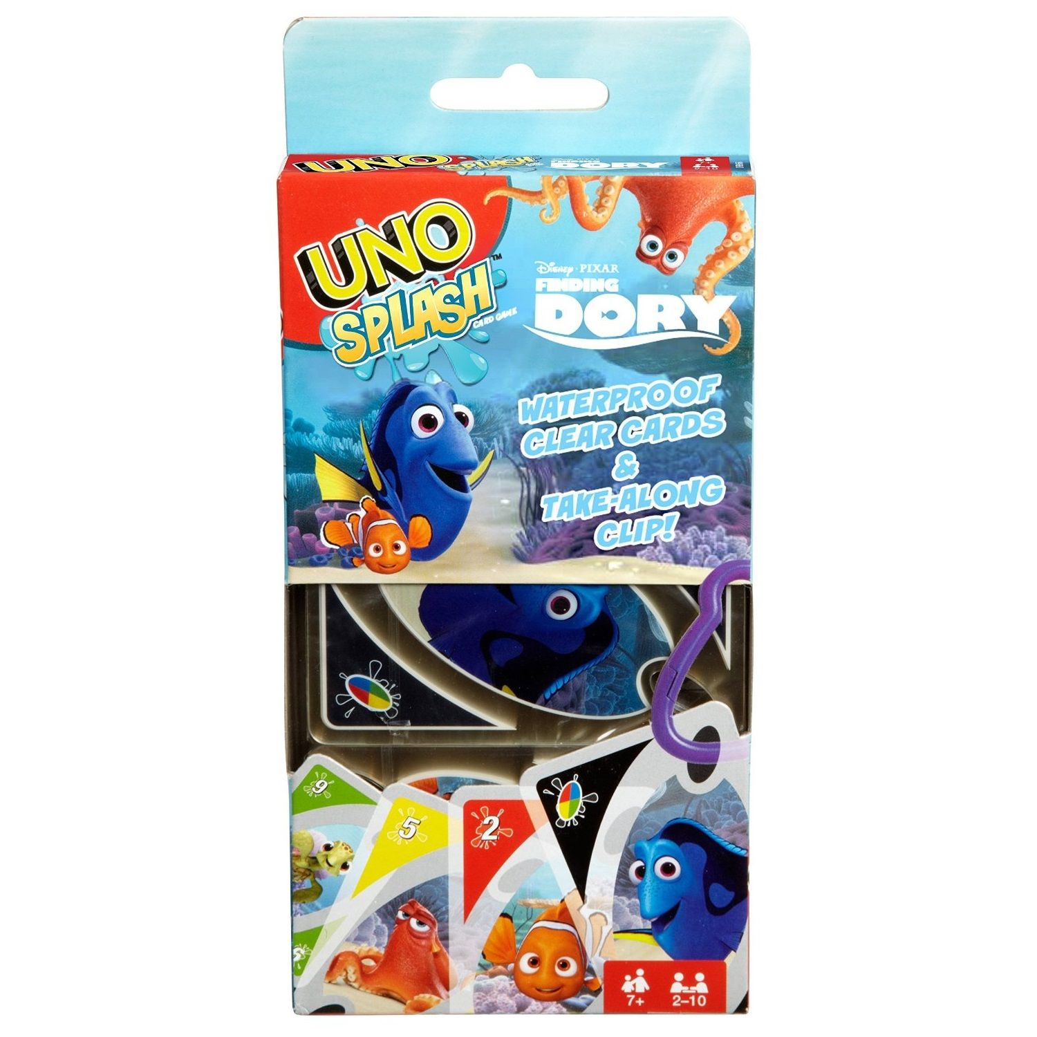 UNO Splash Finding Dory Card Game by Mattel (DRB66) by Mattel