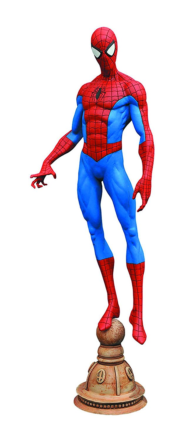 Diamond Select Toys Marvel Gallery Spider-Man 9 inch PVC Action Figure by Diamond Select
