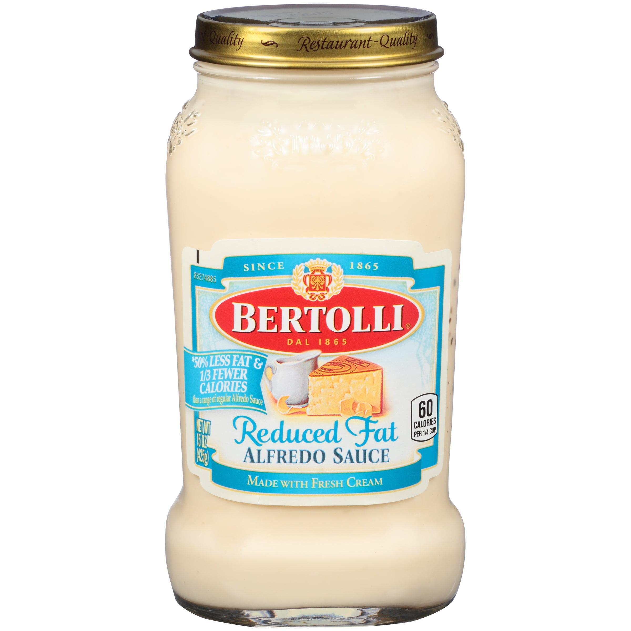 Delightful Bertolli Reduced Fat Alfredo Pasta Sauce 15 Oz.   Walmart.com Amazing Ideas