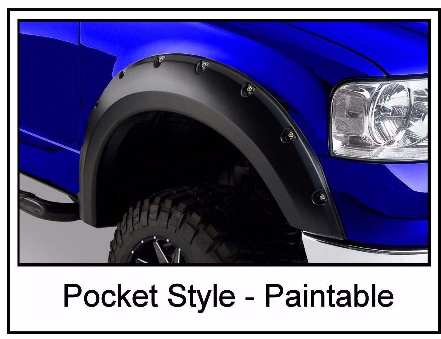 2004 � 2008 Ford F150 Pocket Style Riveted Fender Flares by Auto Express