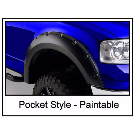 2004 – 2008 Ford F150 Pocket Style Riveted Fender Flares (Ford F150 Bushwacker Fender)