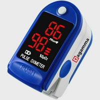 Finger Pulse Oximeter DP100 in Blue Sapphire - The Authentic Pulse Oximeter by Dagamma