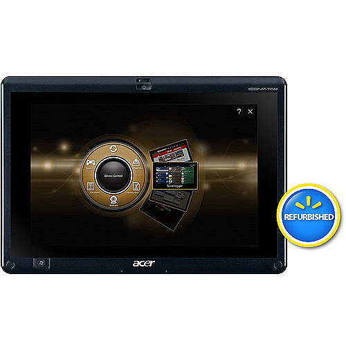 """Acer Refurbished Silver 10.1"""" Iconia Tab W500-BZ467 Tablet PC with AMD C-50 Processor and Windows 7 Home Premium"""