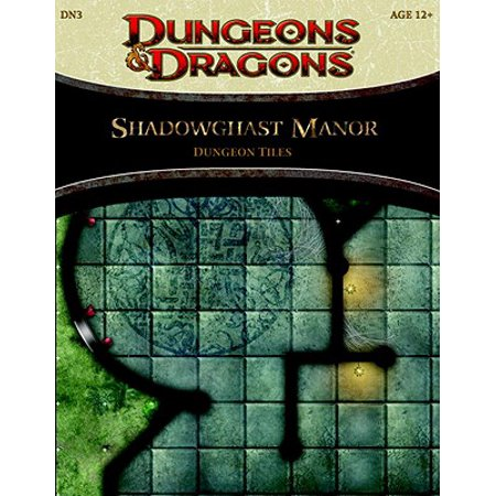 Dungeons And Dragons 4th Edition Books (Shadowghast Manor - Dungeon Tiles : A 4th Edition Dungeons & Dragons)