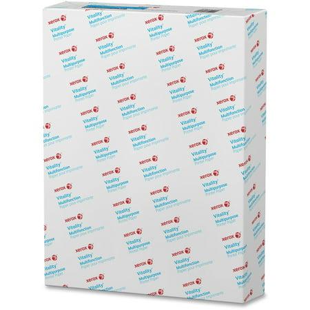 Xerox 500 Sheet Media (Xerox, XER3R04299, Vitality Multipurpose Punched Paper, 500 / Ream, White )