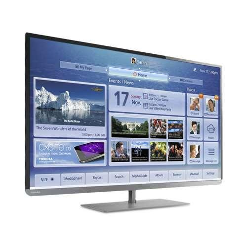 "Refurbished Toshiba 39"" Class LED TV - 1080p, 120Hz, 4x HDMI, 2x USB, Built-in WiFi, Etherne"
