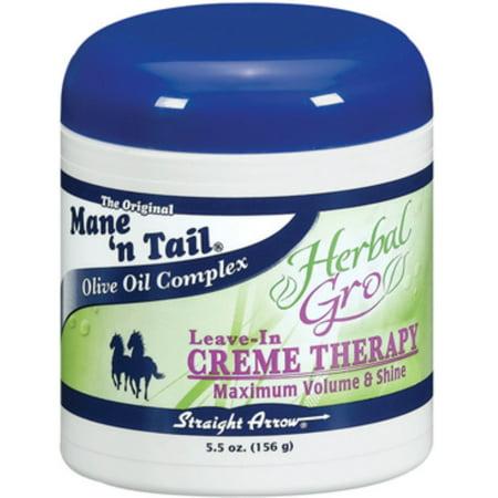 Mane'n Tail Leave-In Herbal-Gro Crme Therapy, 5.5 oz