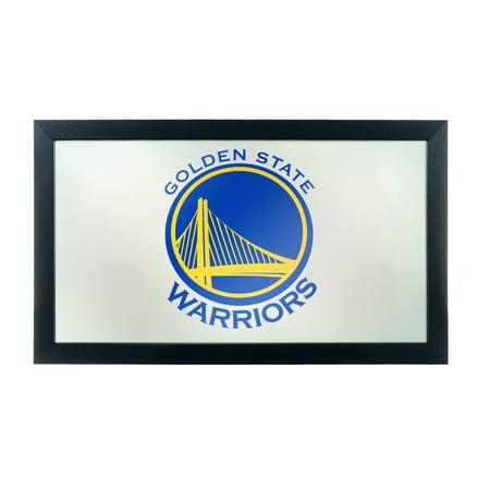 NBA Framed Logo Mirror - Fade - Golden State Warriors Oklahoma State Wall Mirror
