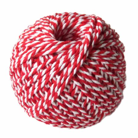 KABOER Two Colors Cotton Bakers Twine Rope Rustic Country Crafts Handmade Accessories Christmas Wedding Gift Packing Supplies