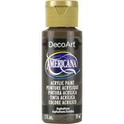 DecoArt Americana Acrylic Color, 2 oz., Asphaltum