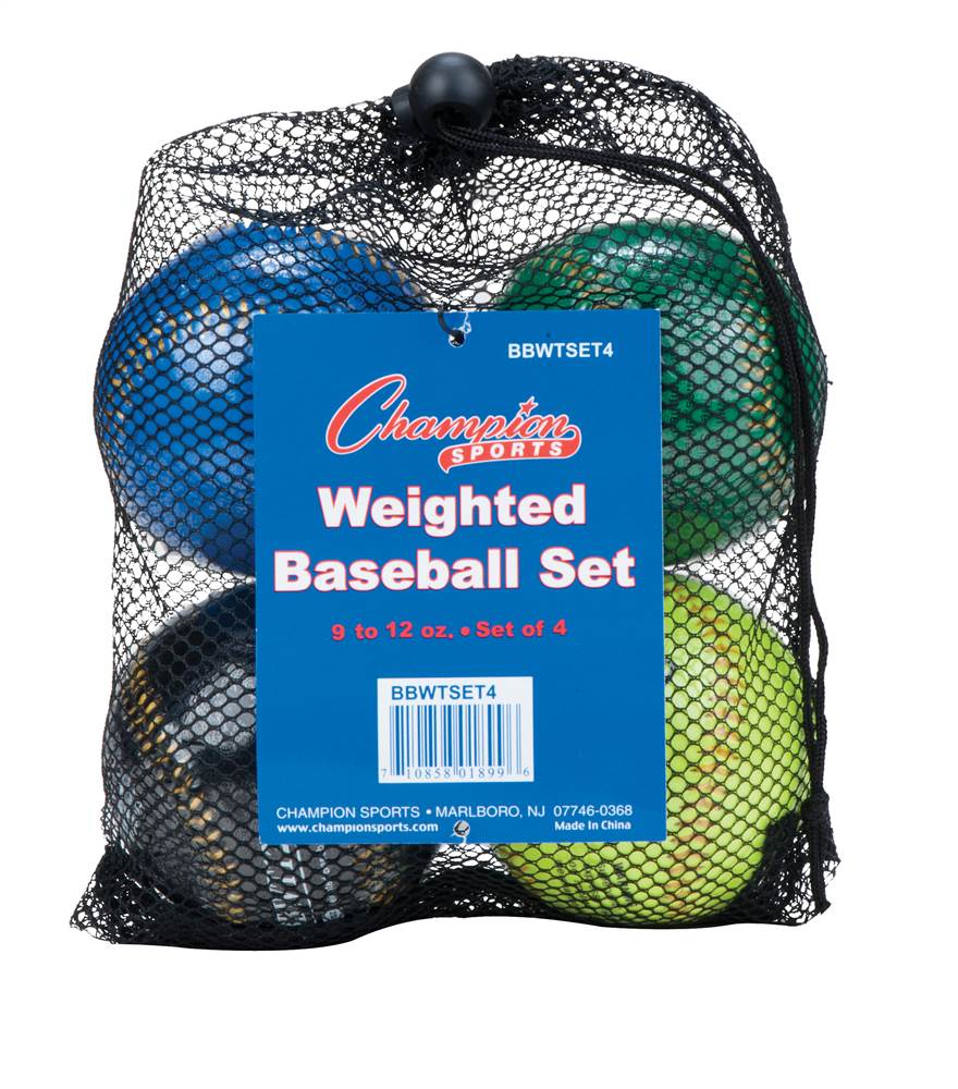 Weighted Training Baseball Set by Champion Sports