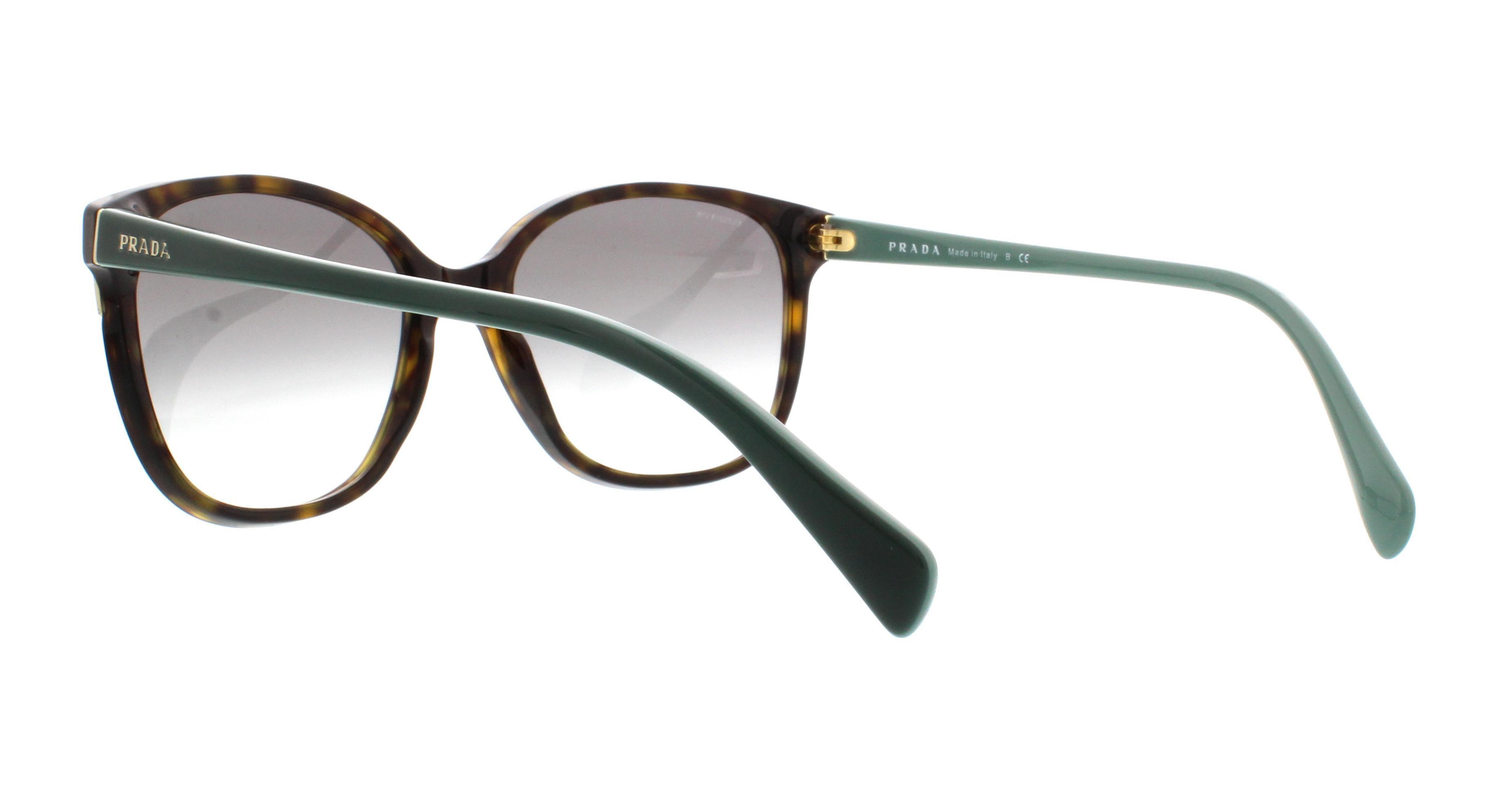 e539fc7081e PRADA - PRADA Sunglasses PR 01OS 2AU1E0 Havana 55MM - Walmart.com