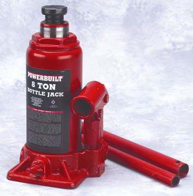 Powerbuilt 647527 8 Ton Bottle Jack