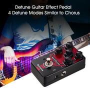 Aural Dream Detune Guitar Effect Pedal 4 Detune Modes Aluminum Alloy Shell with True Bypass