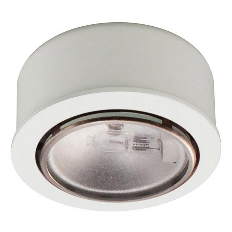 WAC Lighting 20W JC20 Halogen Button Light Brushed Nickel Lighting Fixture