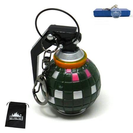 FORTNITE Boogie Bomb Key Chain Bundle with FREE Collectible LED Key Chain & Gift Bag - Key Set Bundle