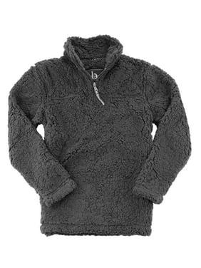 HTC Set: Boxercraft Sherpa 1/4 Zip Pullover + HTC Set: Garment Guide, Charcoal S