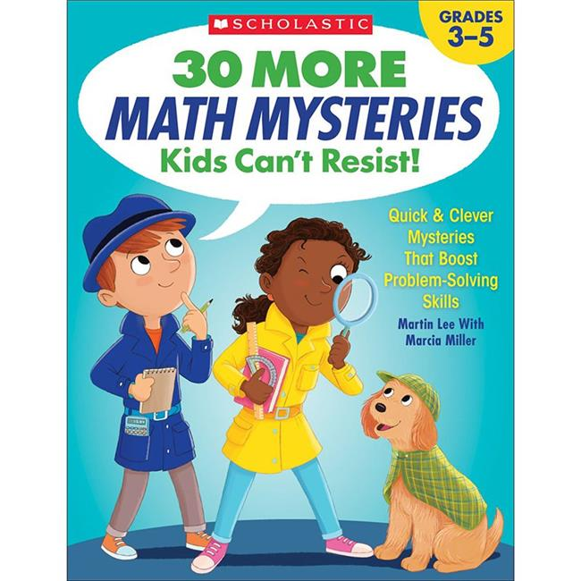 Scholastic Teaching Resources SC-825730BN 30 More Math Mysteries Kids Cant Resist - Pack of 2 - image 1 of 1