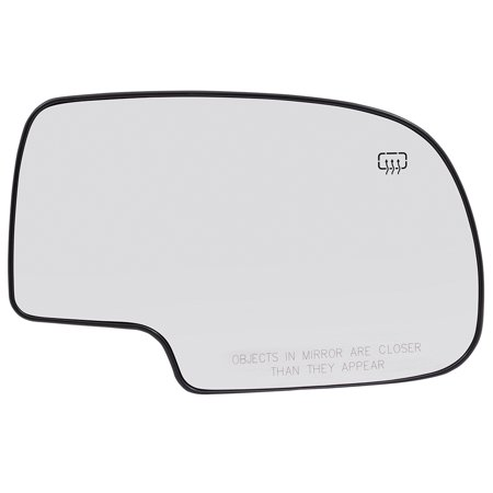 BROCK Power Side View Mirror Glass and Base Heated Passenger Replacement for Chevrolet Cadillac GMC Pickup Truck SUV 88986363