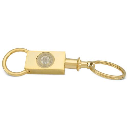 Florida State Gold Two-section Key Ring by
