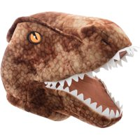 T-Rex Maskimal: Adorable Brown T-Rex Large Plush Head Mask