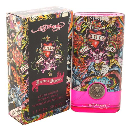 Ed Hardy Hearts & Daggers Eau de Parfum Natural Spray, 1.7 fl oz