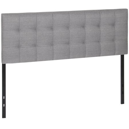 Best Choice Products Upholstered Tufted Fabric Queen Headboard -
