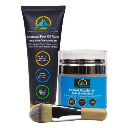 The Facial Kit - Natural Skincare Gift Set for Deep Pore Cleansing, Blackhead Removal, Anti Aging, Anti Wrinkle & Acne