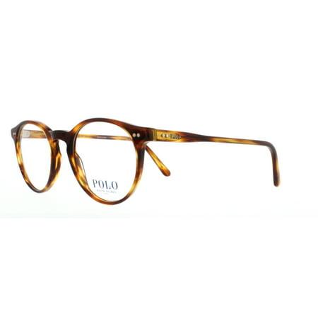POLO Eyeglasses PH 2083 5007 Havana Striped 48MM