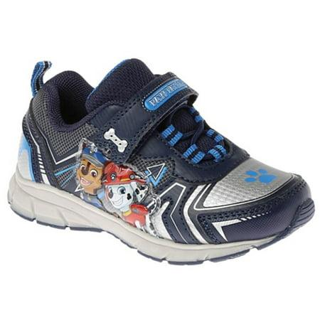 - Josmo Boys Paw Patrol Sneaker w/Lights, NAVY