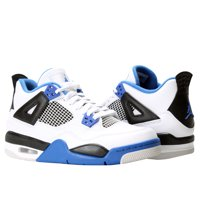 Nike Air Jordan 4 Retro BG Motorsports Big Kids Basketball Shoes 408452-117