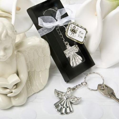Guardian Angel Key Ring Favor  pack of 60