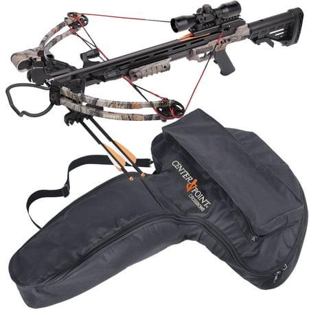 Centerpoint Sniper 370 Crossbow Bundle, Camo plus Soft Case Value Bundle](Chewbacca Crossbow)