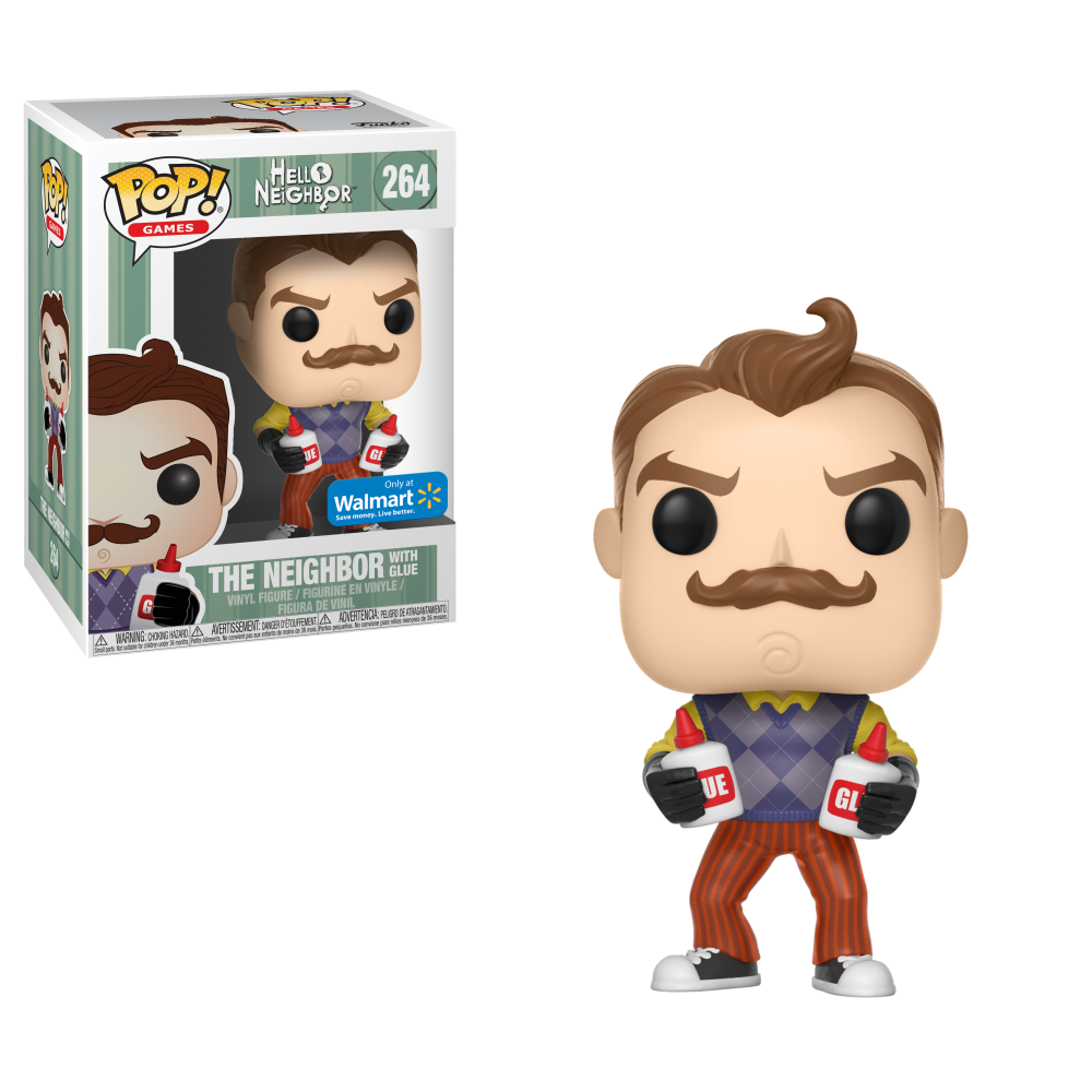Funko POP! Games: Hello Neighbor - Neighbor with Jar Glue